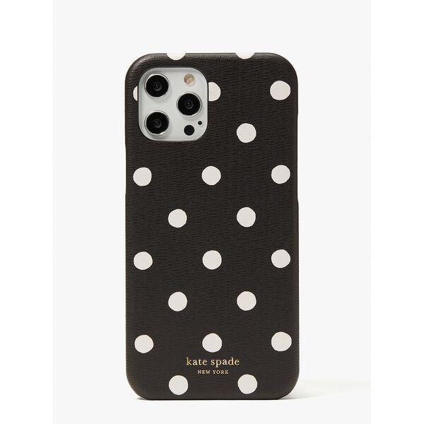 sunshine dot iphone 12 pro max case, black multi, hi-res