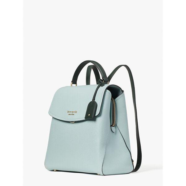thompson colorblocked medium backpack, aventurine multi, hi-res