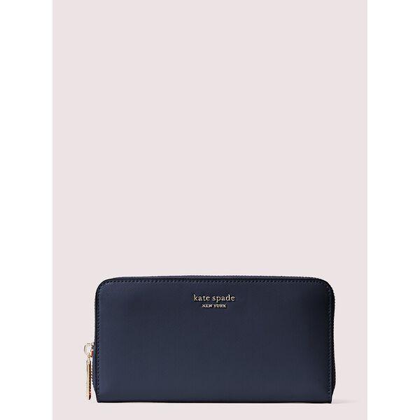 spencer zip-around continental wallet, nightcap, hi-res