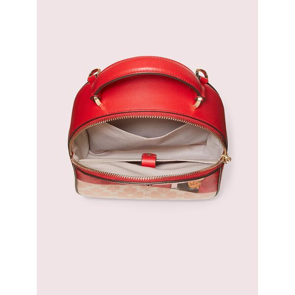 kate spade new york x tom & jerry mini convertible backpack, multi, hi-res