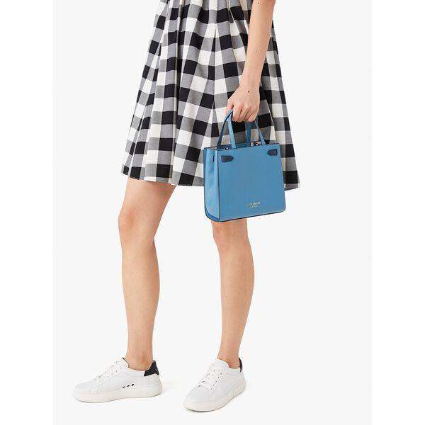 lane small satchel, niagara, hi-res