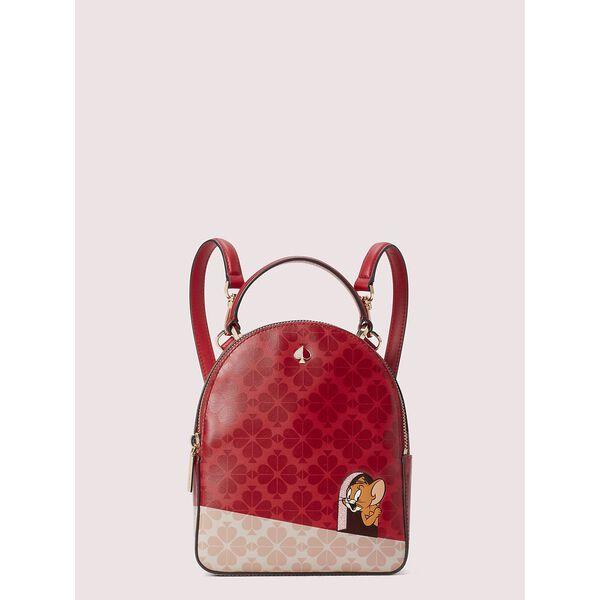 kate spade new york x tom & jerry mini convertible backpack