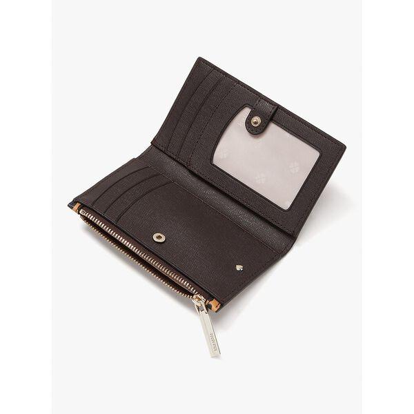spencer leopard small slim bifold wallet, multi, hi-res