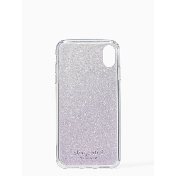 flexible glitter iphone xs max case, BERRY CRUSH, hi-res