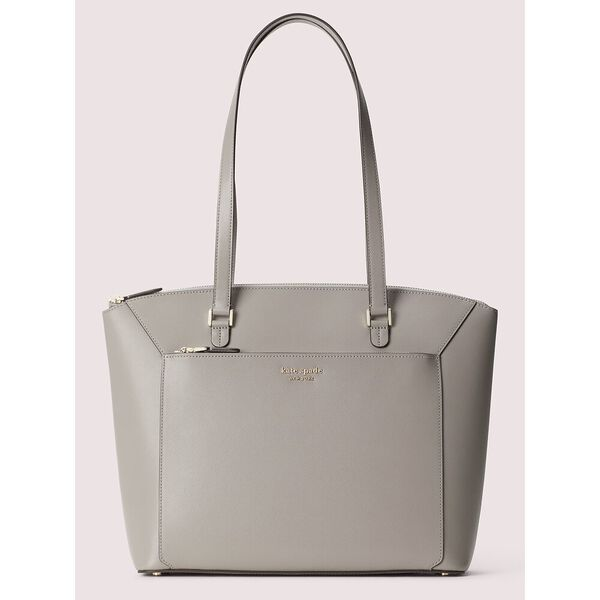 louise large tote, TRUE TAUPE, hi-res
