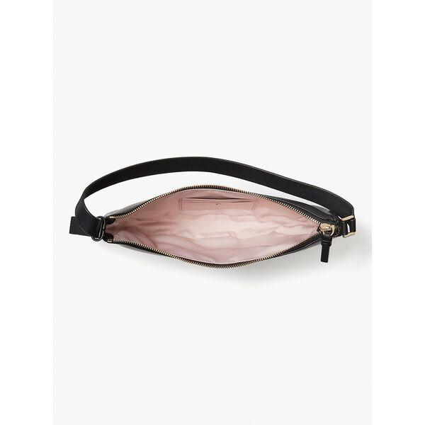 smile small shoulder bag, black, hi-res