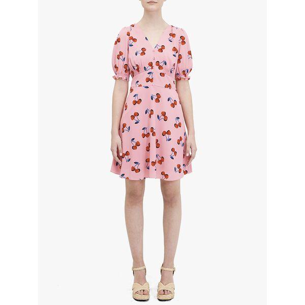 cherry toss dress
