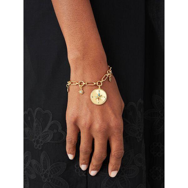my medallion charm bracelet, gold multi, hi-res
