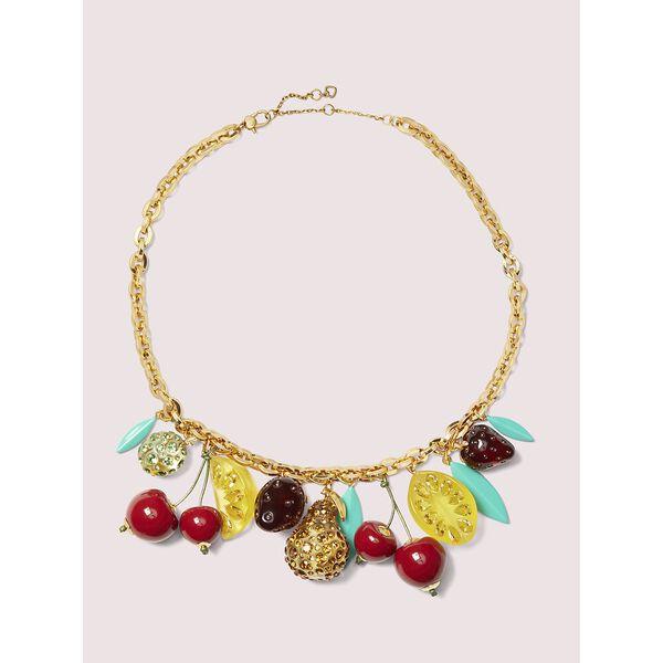 tutti fruity charm necklace, MULTI, hi-res