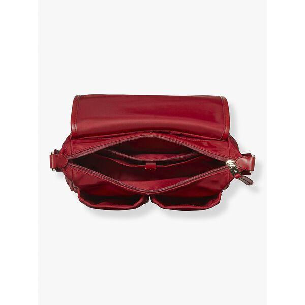 daily medium messenger bag, RED CURRANT, hi-res
