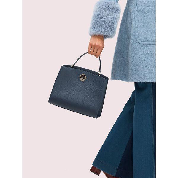 romy medium satchel, blazer blue, hi-res