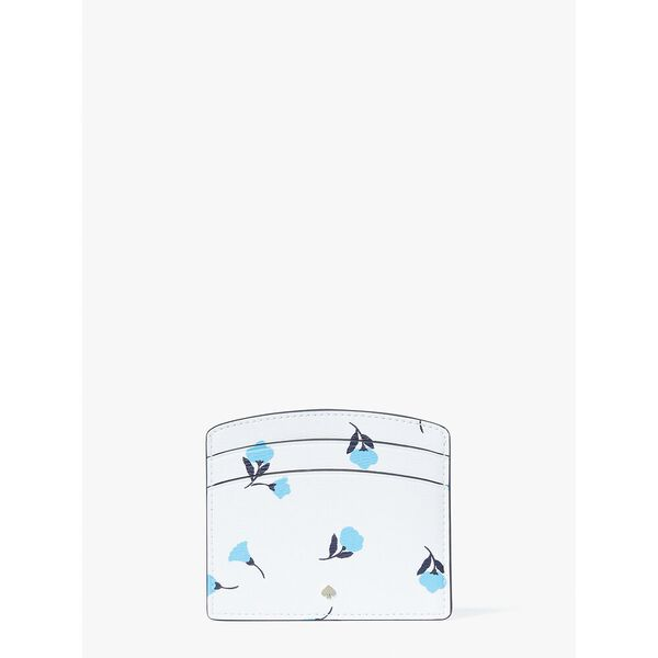 spencer dainty bloom cardholder, parchment multi, hi-res