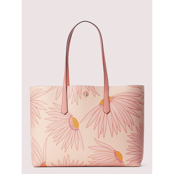 molly falling flower large tote