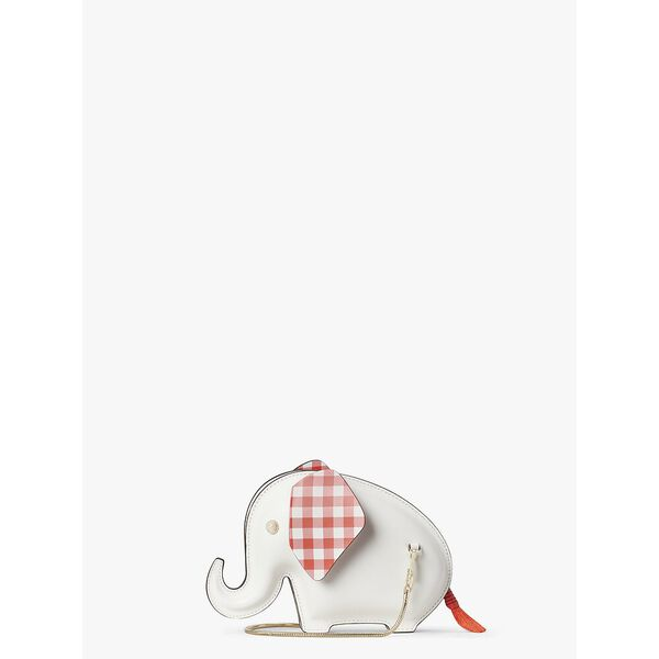 tiny elephant crossbody, OPTIC WHITE, hi-res