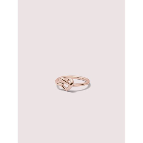 loves me knot loves me knot ring, rose gold, hi-res