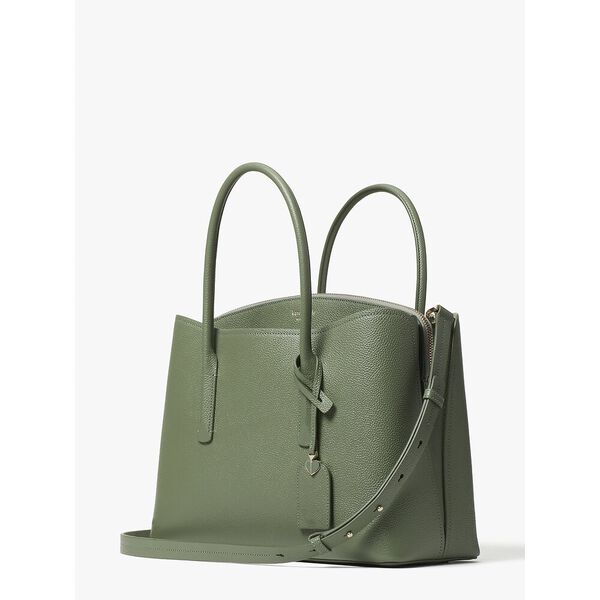 margaux large satchel, DUSTY PICKLE, hi-res