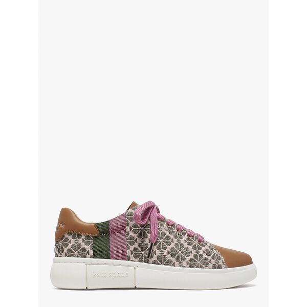 keswick spade flower jacquard sneakers