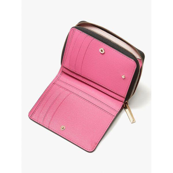spencer sunshine dot small compact wallet, blackmulti, hi-res