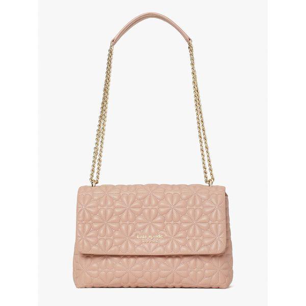 bloom large flap shoulder bag