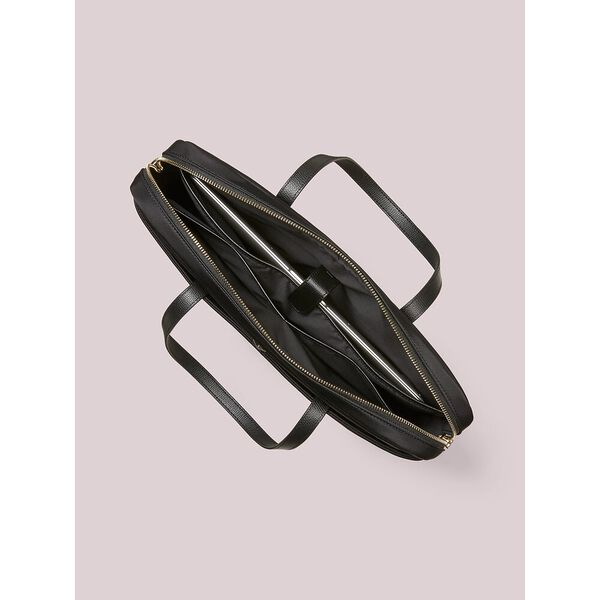 taylor universal laptop bag, black, hi-res