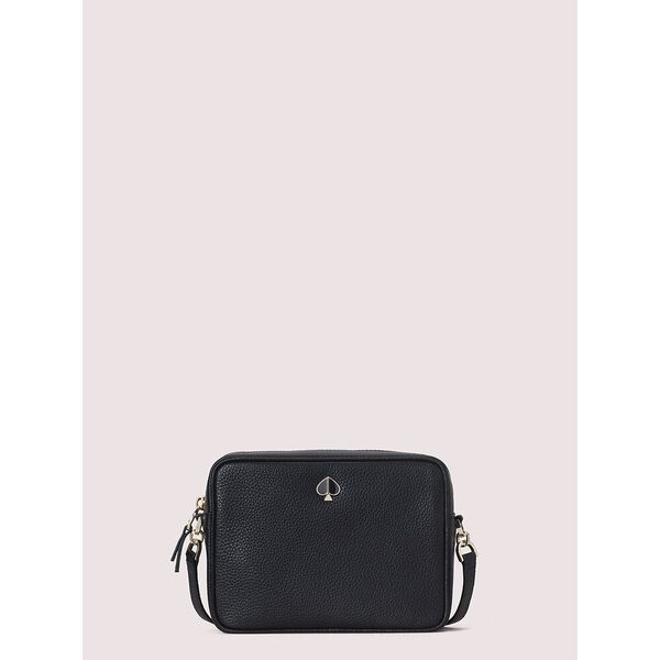polly medium camera bag, black, hi-res