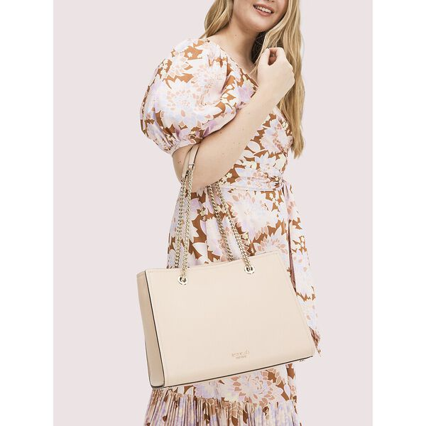 amelia pebble large tote, blush, hi-res