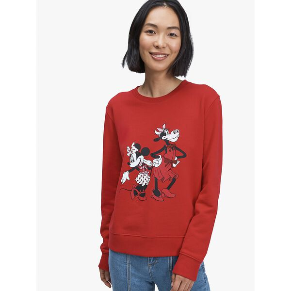 disney x kate spade new york clarabelle & friends sweatshirt