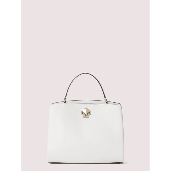 romy medium satchel, parchment, hi-res