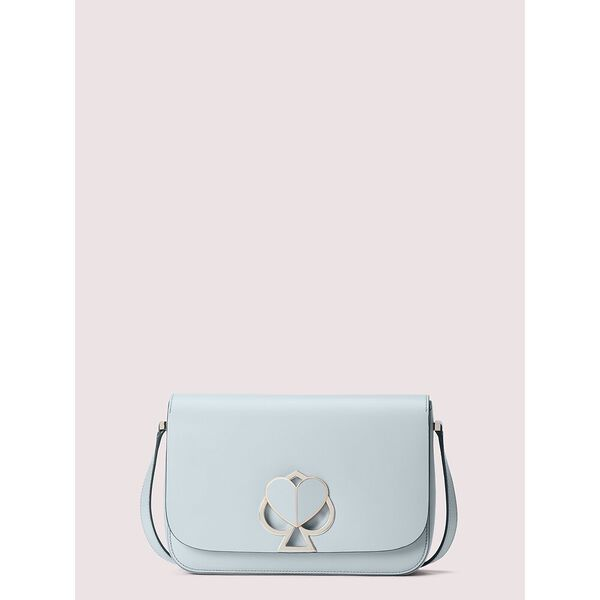 nicola twistlock medium shoulder bag, CLOUD MIST, hi-res