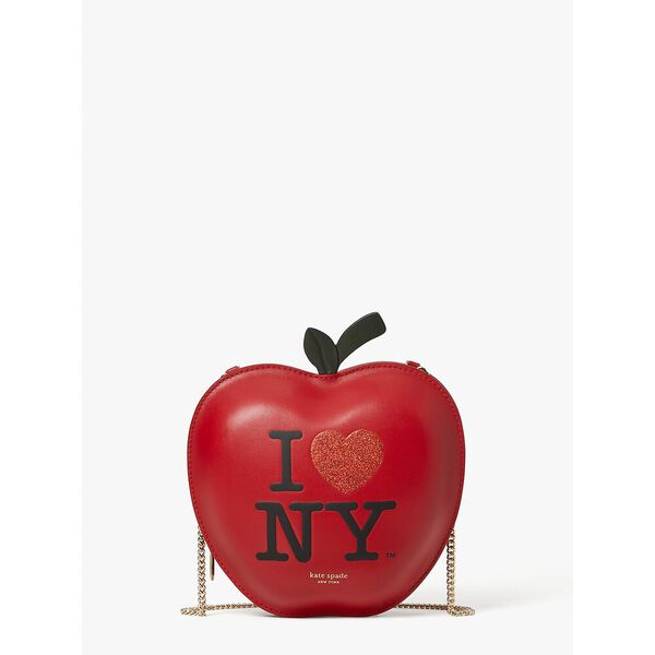 i heart ny x kate spade new york big apple crossbody
