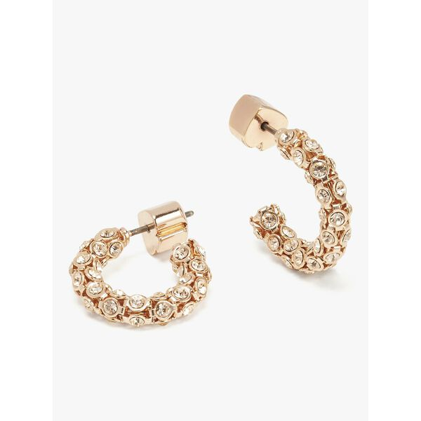 adore-ables hoops, rose gold, hi-res