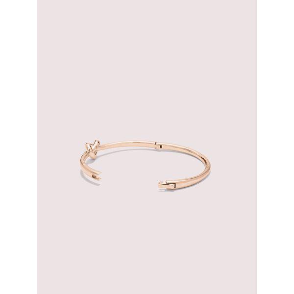 loves me knot bangle, ROSE GOLD, hi-res