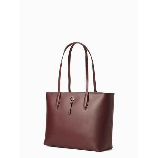 adel large tote, cherry wood, hi-res
