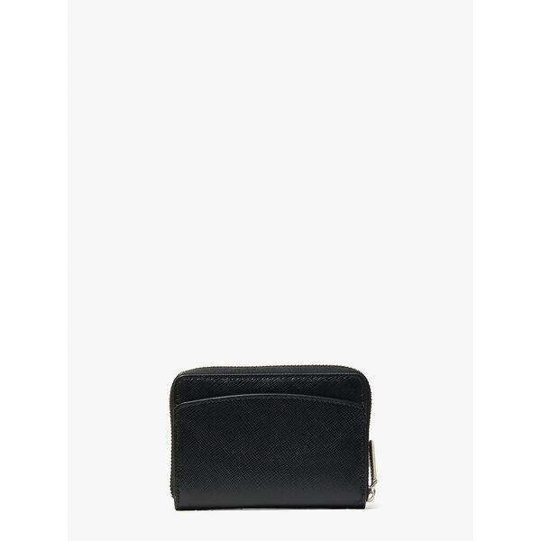 spencer zip cardholder, black, hi-res