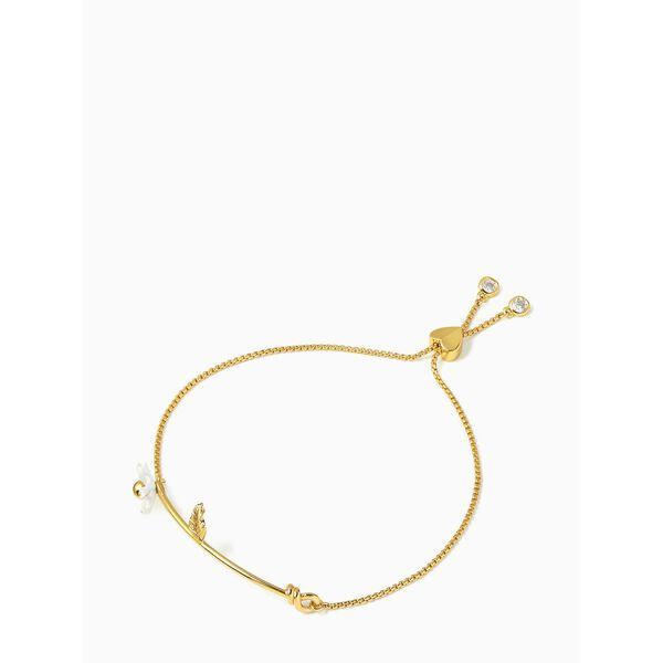 dazzling daisies slider bracelet