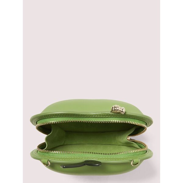 picnic apple crossbody, BANANA LEAF, hi-res