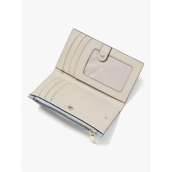 spencer small slim bifold wallet, HORIZON BLUE, hi-res