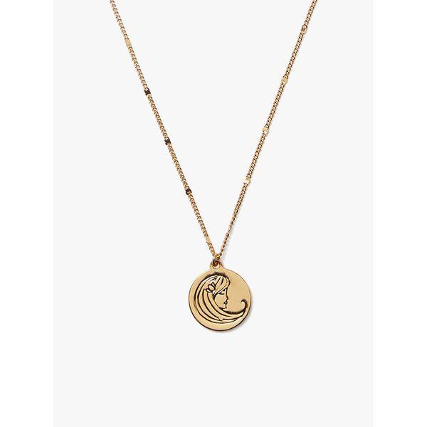 in the stars virgo pendant, gold, hi-res