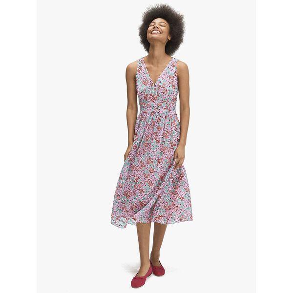floral medley burnout dress