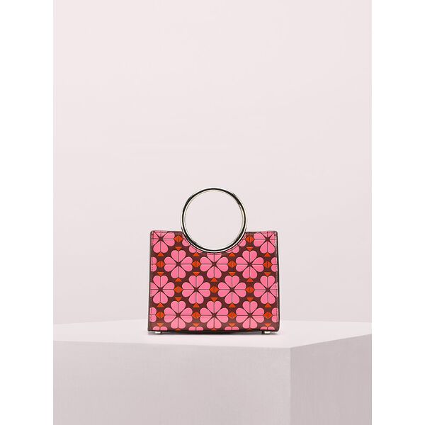 sam spade flower bracelet mini satchel, cherrywood, hi-res