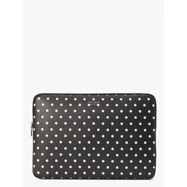 cabana dot universal laptop sleeve, black multi, hi-res