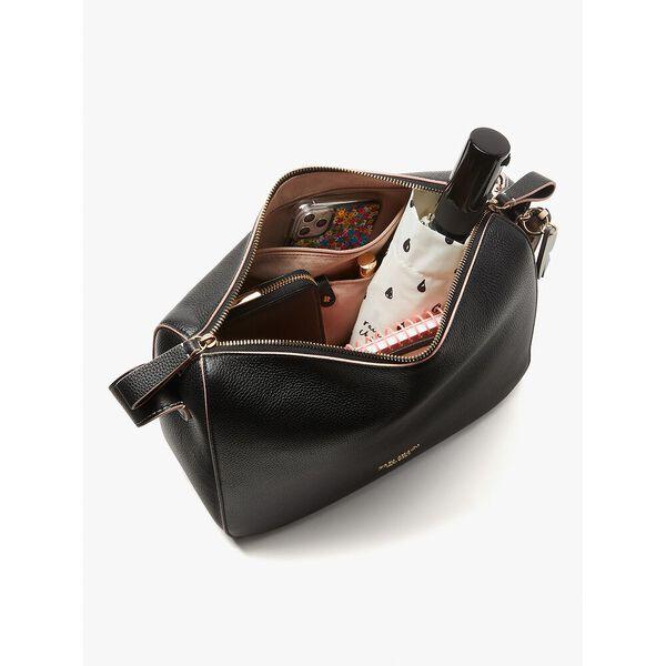 anyday medium shoulder bag, black, hi-res