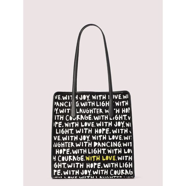cleo wade x kate spade new york phrases tote