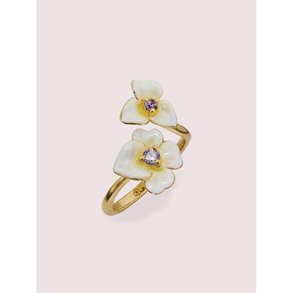 precious pansy ring