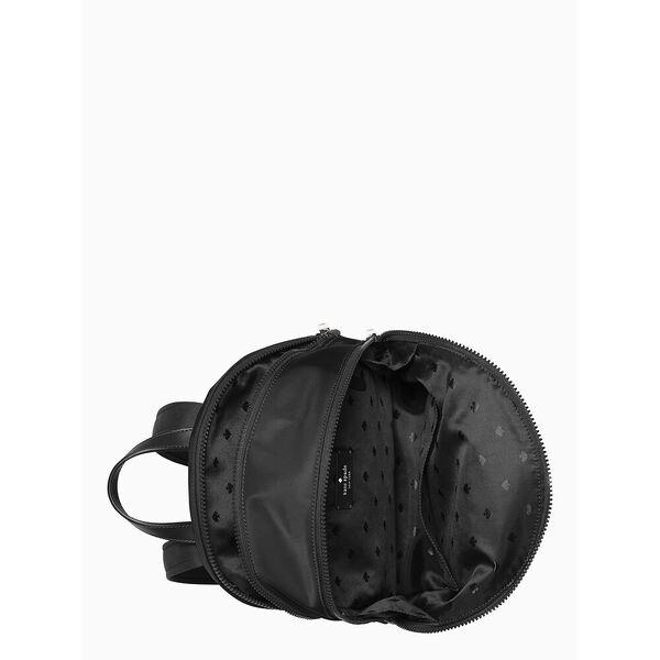 karissa nylon medium backpack, black, hi-res