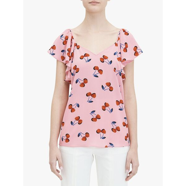 cherry toss flutter top