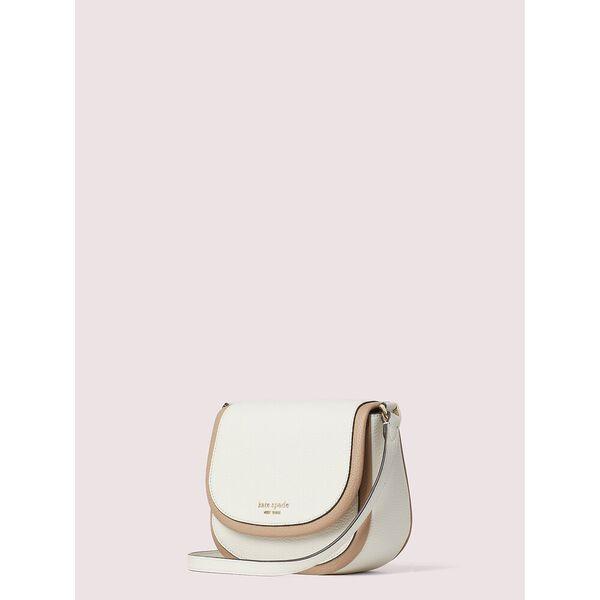 roulette small saddle bag, PARCHMENT MULTI, hi-res