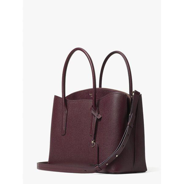 margaux large satchel, DEEP CHERRY, hi-res