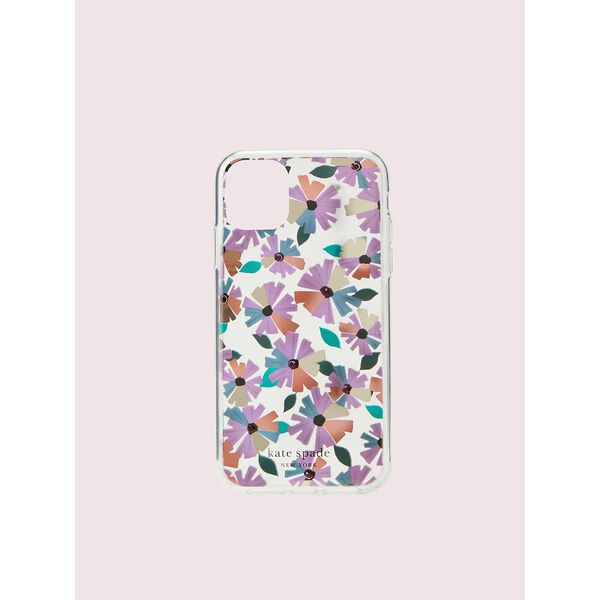 jeweled clear wallflower iphone 11 case