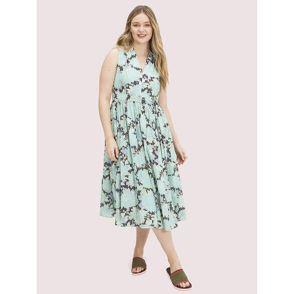 dahlia bloom burnout dress